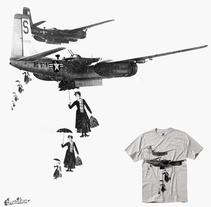 Camiseta. Un proyecto de Diseño gráfico de Alejandro  - Jueves, 18 de septiembre de 2014 00:00:00 +0200