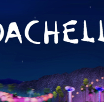 Coachella Ads. A Illustration, Motion Graphics, and Animation project by Benet Carrasco Llinares         - 21.09.2011