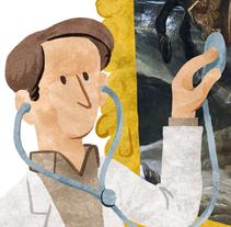 Dídac Sarri Valdezate | Restaurador. Un proyecto de Ilustración de Alejandro Antoraz Alonso - 24-09-2014