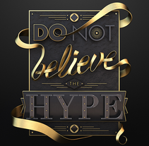Hype. A 3D, Graphic Design, T, and pograph project by Jose Checa         - 25.09.2014