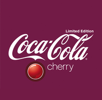 Lanzamiento Coca-Cola cherry. A Design, Art Direction, Graphic Design, and Packaging project by Álvaro Infante         - 30.04.2013