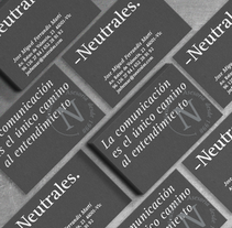 -Neutrales.. A Art Direction, Br, ing, Identit, and Graphic Design project by Andrea Ferrandis Salido         - 06.01.2016
