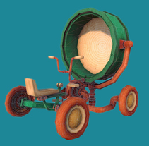The Lighthouse Keepers. A 3D, Character Design, and Game Design project by Oliver Añón Lema         - 29.09.2014