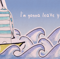 Sail Away (Lyric video). A Illustration, Motion Graphics, and Animation project by SoisDeTraca         - 18.11.2013