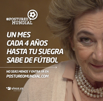#postureomundial. A Advertising project by Muttante         - 03.06.2014