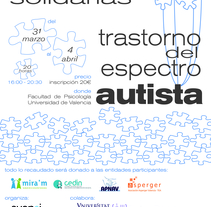 Jornadas Autismo. A Design, and Graphic Design project by Sara Cubells - 28-02-2014