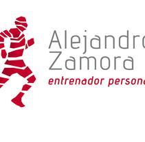 Alejandro Zamora, entrenador personal. Un proyecto de Diseño, Br e ing e Identidad de Javier Díaz González - 14-10-2014