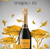SPARKLING SUNRISE. Um projeto de Ilustração, Publicidade e Pós-produção de Chang Hyon Lee         - 17.10.2014
