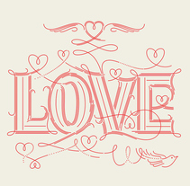 LOVE. A Design, T, and pograph project by Martina Flor - Oct 20 2014 12:00 AM