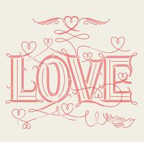 LOVE. Un proyecto de Diseño y Tipografía de Martina Flor         - 19.10.2014