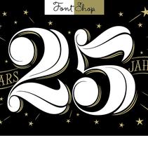 FontShop 25 años. Un proyecto de Tipografía de Martina Flor         - 19.10.2014