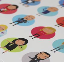 Libreta Personalizada. A Illustration project by Silvia Iglesias - Aug 04 2013 12:00 AM