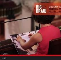 Big Draw 2014. Um projeto de Ilustração, Direção de arte e Artes plásticas de zulema galeano         - 11.01.2016