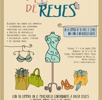 Mercadillo de Reyes. Comunicación. Um projeto de Design, Ilustração e Design gráfico de Patricia  Berthier - 31-12-2013