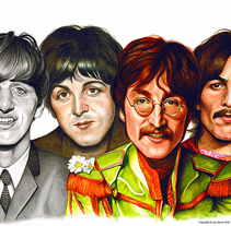 The Beatles History. Un proyecto de Ilustración y Bellas Artes de Jan Serra         - 29.10.2014