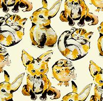 Ilustraciones de cachorros. A Design, Illustration, Fashion, and Painting project by Laura Izquierdo Hernández - Nov 12 2014 12:00 AM