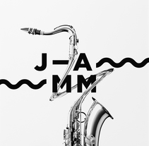 Jamm, identidad gráfica para la Asociación de Músicos de Jazz de Cataluña. A Art Direction, Br, ing, Identit, Graphic Design, and Web Design project by Edu Torres         - 16.11.2014