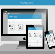 Página Personal. A Design, Multimedia, Web Design, and Web Development project by Matías         - 16.11.2014