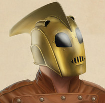 Rocketeer. A Illustration project by Óscar Luis Barriga Comendador - 11.19.2014
