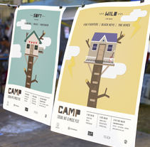 CAMP Festival. A Illustration, Music, and Audio project by Eva Mez         - 22.04.2014