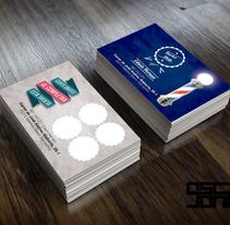 Tarjetas de invitación Barber Shop. Un proyecto de Diseño, Publicidad y Diseño gráfico de Oscar Jones         - 22.11.2014