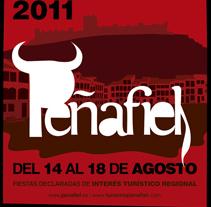 Cartel fiestas de Peñafiel. A Design project by Ciscu Design  - 26-11-2014