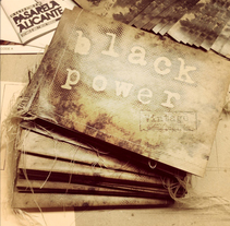 "Invitación - PressBook  ""Black power vintage"" . A Art Direction, Editorial Design, Events, Fashion, Graphic Design, and Screen-printing project by Erick Martínez Piñol         - 28.11.2014"