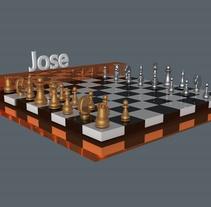 Proyectos en cinema 4D. A 3D, and Animation project by José Gabriel         - 01.12.2014