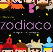 Colección zodíaco. A Illustration, Character Design, To, and Design project by  Elda  Campos         - 07.12.2014