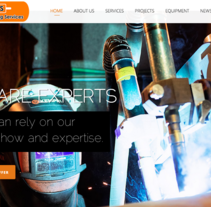 AWS Limited. Welding Experts. A Web Design project by Santiago Avilés         - 30.09.2014