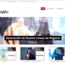 www.universidadyempresa.es. A Web Design project by Adolfo Martinez San Jose         - 09.12.2014