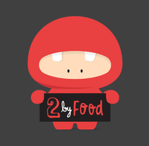 2 by Food. A Illustration, Br, ing, Identit, and Graphic Design project by duaaa         - 09.12.2014
