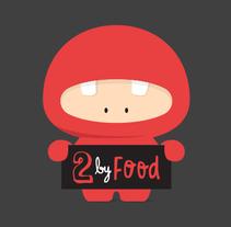 2 by Food. Un proyecto de Ilustración, Br, ing e Identidad y Diseño gráfico de duaaa - 09-12-2014