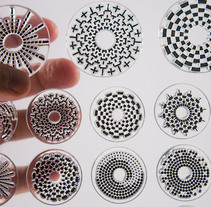 Circle Clear Stamps. A Design and Product Design project by Francisco Aveledo - 12.16.2014