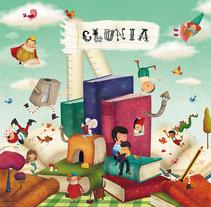 Clunia Librería III. Un proyecto de Diseño, Ilustración, Diseño de personajes, Bellas Artes y Pintura de Laura Cortés         - 17.12.2014