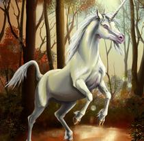 Reto Unicornio. Un proyecto de Bellas Artes e Ilustración de Isabel Martín - Sábado, 27 de diciembre de 2014 00:00:00 +0100