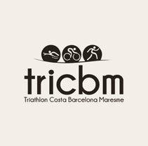 Logotipo Barcelona Triahlon Costa Maresme. Un proyecto de Diseño gráfico de Pablo Rguez         - 04.01.2015