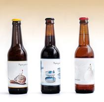 Etiquetas de cerveza. Un proyecto de Fotografía, Diseño gráfico y Packaging de Sheyla López         - 08.10.2017