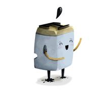 Tip, la mascota de una imprenta. A Character Design&Illustration project by Pedro Alón - Dec 01 2014 12:00 AM