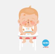 Bienvenido bebé. Un proyecto de Ilustración de Laura Carreira Vidal - 11-01-2015