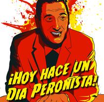 Presidente Perón. A Illustration project by Ralf Wandschneider - Jan 15 2015 12:00 AM