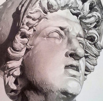 Drawing of sculptures / Dibujos de esculturas. A Fine Art project by Laura Portolés Moret - 25-01-2015