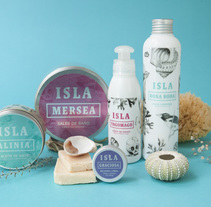 Packaging para cosmetica artesanal ISLA. A Fine Art, Br, ing, Identit, Design, Product Design, Photograph, Illustration, Packaging, T, and pograph project by Oze Tajada - Jan 30 2015 12:00 AM