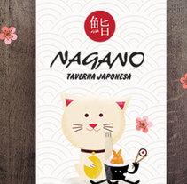 Nagano. Taverna Japonesa. Um projeto de Ilustração, Br e ing e Identidade de Anna  Pujadas Baqué         - 13.08.2014