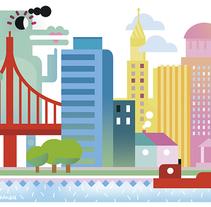 ICON MGZ. EL PAÍS. Un proyecto de Ilustración, Publicidad y Diseño editorial de Del Hambre  - 02-02-2015