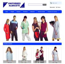Uniformes Albacete, tienda online. Un proyecto de Diseño de calzado de ALEJANDRO GIL GONZALEZ - 19-12-2012