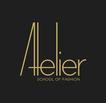 Atelier, School of Fashion. Um projeto de Br e ing e Identidade de Laura Reyero         - 08.02.2015