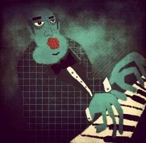 Música. Um projeto de Ilustração de Chencho Jiménez         - 09.02.2015