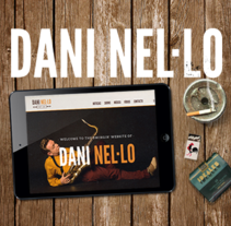 Dani Nel.lo. A Design, Art Direction, and Web Development project by Vudumedia  - 10-02-2015