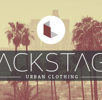 Backstage Store. Un proyecto de Br e ing e Identidad de Melisa Loza Martínez - 14-10-2014